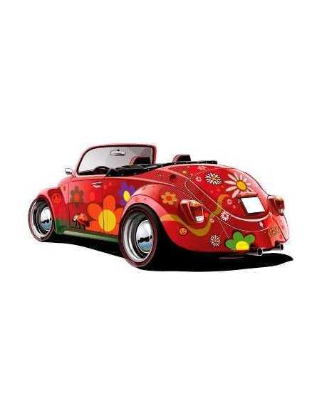 Escarabajo Hippie Descapotable