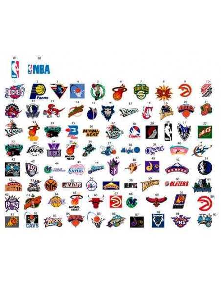 Logos Equipos NBA Baloncesto