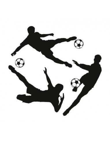 Futbol siluetas
