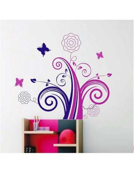 Mariposas Flor