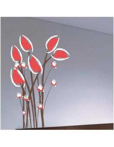 Flores Rojas Blancas