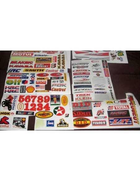 Adhesivos impresos y recortados