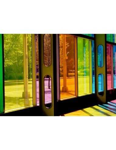 Lámina color transparente