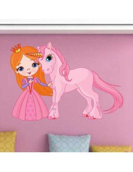 Princesa y caballo