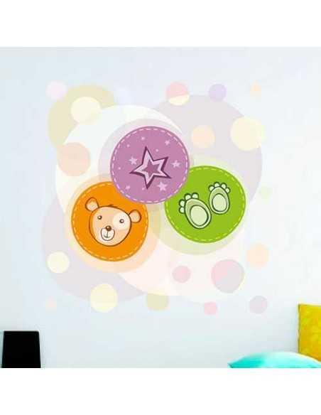 Estrella Osito Pies Burbujas