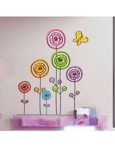 Flores Modernas Color