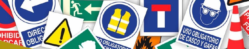 Señalética, señales de prevención laboral, señales de seguridad